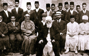 Abdu'l-Baha and Friends Holy Land 1919-i-1