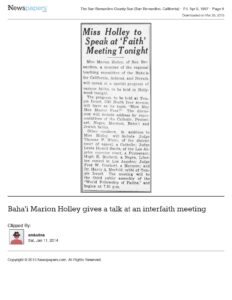 Baha__039_i_Marion_Holley_gives_a_talk_at_an_interfaith_meeting_