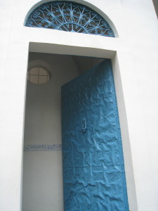 Bahji Blue Door