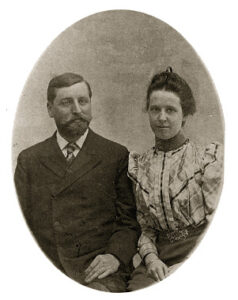 Edward and Lua Getsinger -Earlier years of marriage-1