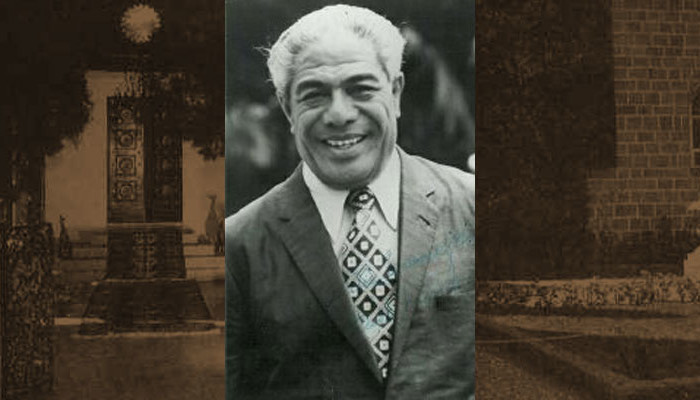 Malietoa Tanumafili II, King of Samoa