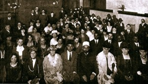 the Bahais of the New York Metropolitan District at St. Mark's Hall, Friday evening, February 23, 1923 Jenabi Fazel