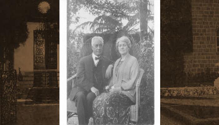 Clara Dunn and  John Henry Hyde Dunn