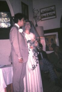 1974 our wedding