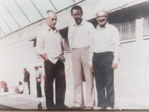 Mr Manuchehr Farzaneh Mr Muhammad Mansouri Mr Jadidullah Ashraf July 7 1982